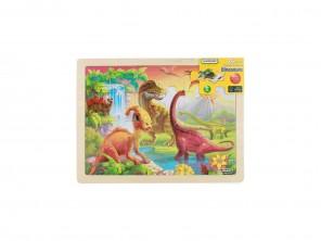 24 Piece Jigsaw Puzzle - Dinosaurs
