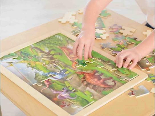 48 Piece Jigsaw Puzzle - Dinosaurs