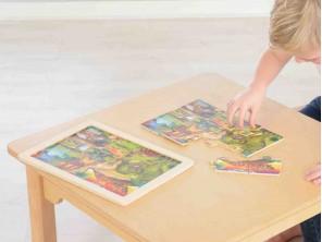 12 Piece Jigsaw Puzzle - Dinosaurs