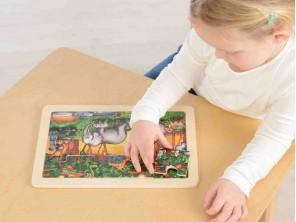 12 Piece Jigsaw Puzzle - Forest Jou...