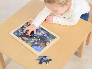 12 Piece Jigsaw Puzzle - Space Trip