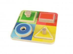 Knob Puzzles-Shapes