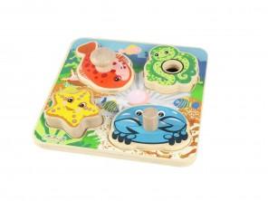 Knob Puzzles-Sea Creatures