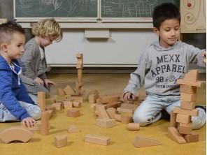 92-piece Wooden Block Set