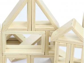 31-piece Mirror Block Set